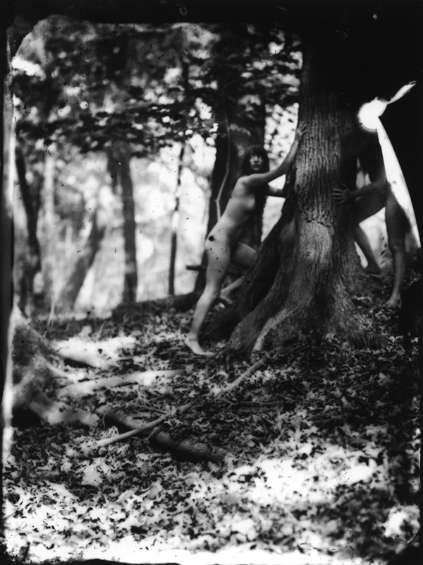 Earth Magic - 2011<br> Silver gelatin print from wet plate collodion negative