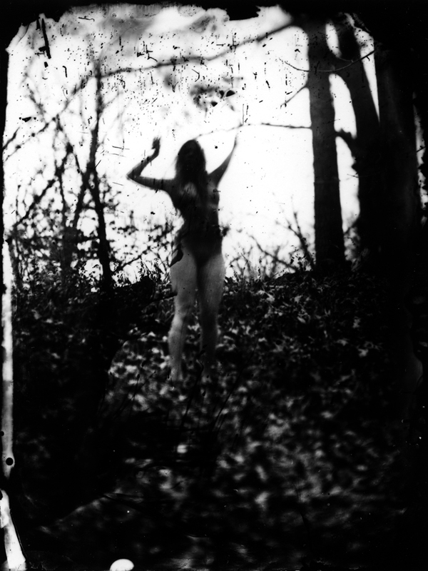 Earth Magic - 2010 Silver gelatin print from wet plate collodion negative