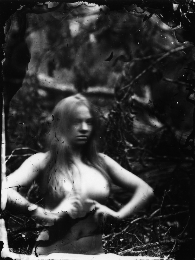 Earth Magic - 2011 Silver gelatin print from wet plate collodion negative